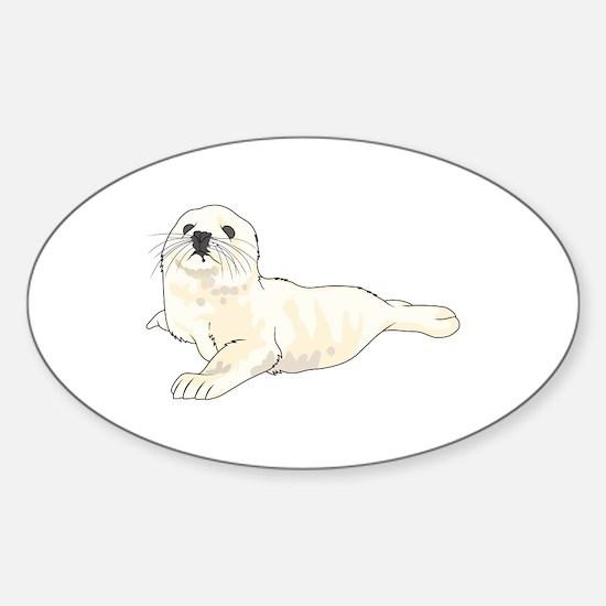 HARP SEAL PUP Decal