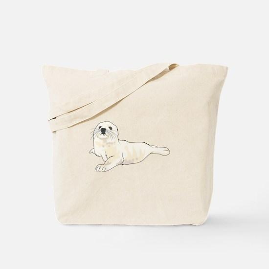 HARP SEAL PUP Tote Bag