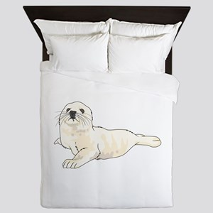 HARP SEAL PUP Queen Duvet
