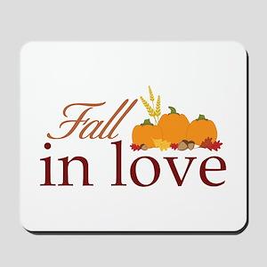 fall in love Mousepad