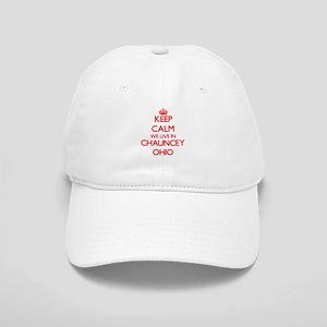 Keep calm we live in Chauncey Ohio Cap