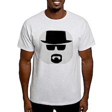 White - Heisenberg Sillouette Light T-Shirt