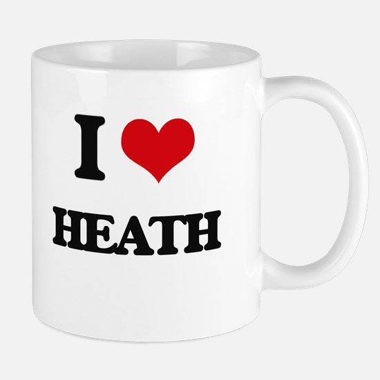 I Love Heath Mugs