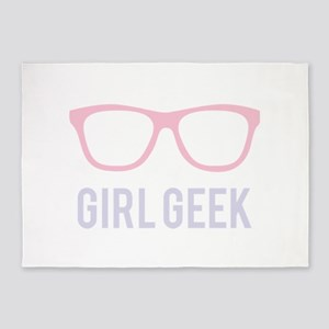 Girl Geek 5'x7'Area Rug