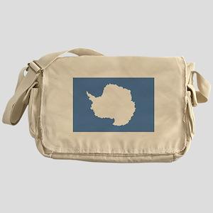 Antarctica flag Messenger Bag