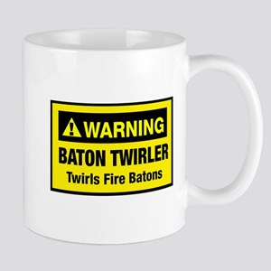 Twirls Fire Batons Mug