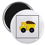 Dump Truck Construction Magnets