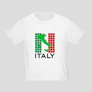 italy flag 03 Toddler T-Shirt