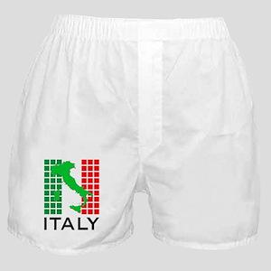 italy flag 03 Boxer Shorts
