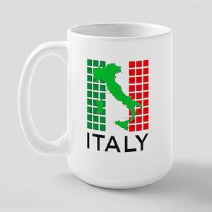 italy flag 03 Large Mug