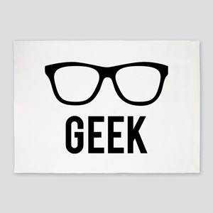 Geek 5'x7'Area Rug