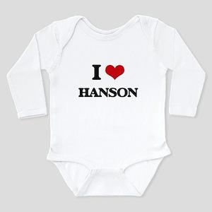 I Love Hanson Body Suit
