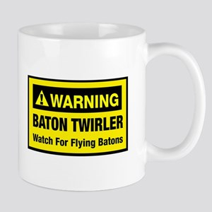 WARNING Baton Twirler Mug