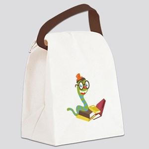 Bookworm Canvas Lunch Bag