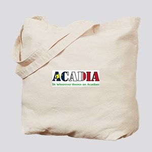 Acadia is where LARGE Tote Bag