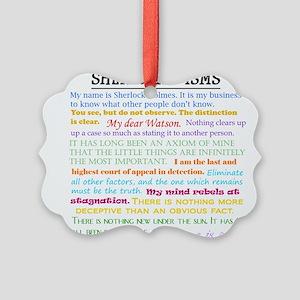 Sherlock-isms Ornament