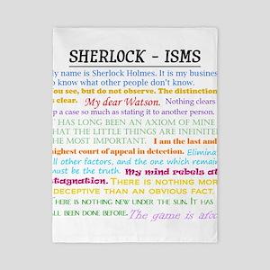 Sherlock-isms Twin Duvet