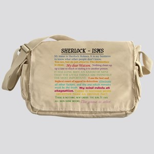Sherlock-isms Messenger Bag