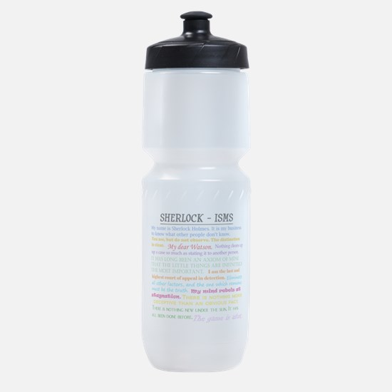 Sherlock-isms Sports Bottle
