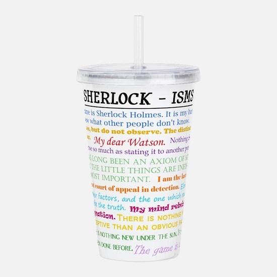 Sherlock-isms Acrylic Double-wall Tumbler