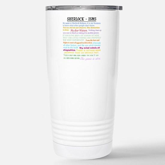 Sherlock-isms Travel Mug