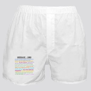 Sherlock-isms Boxer Shorts