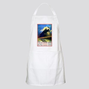 NY to Chicago BBQ Apron