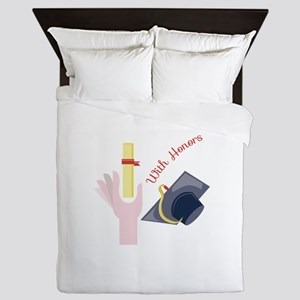 With Honors Queen Duvet