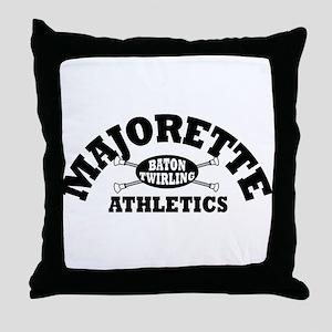 Majorette Athletics Throw Pillow