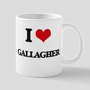 I Love Gallagher Mugs