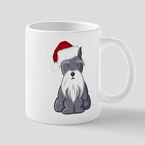 Santa Schnauzer Mugs