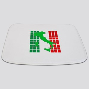 italy flag 05 Bathmat