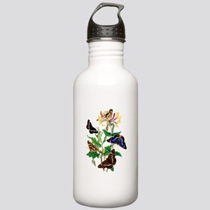 BUTTERFLIES AND HONEYS Stainless Water Bottle 1.0L