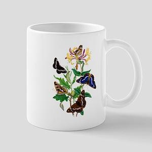 BUTTERFLIES AND HONEYSUCKLE Mug