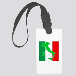 italy flag 06 Large Luggage Tag