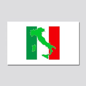 italy flag 06 Car Magnet 20 x 12