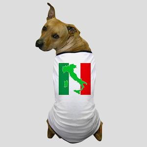 italy flag 06 Dog T-Shirt
