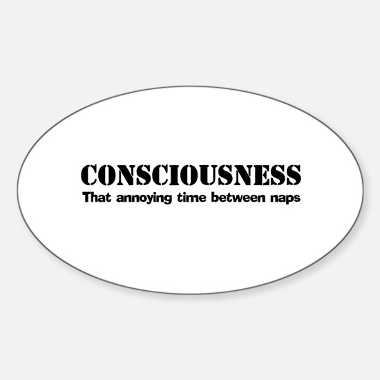 Consciousness Oval Decal