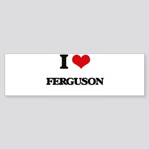I Love Ferguson Bumper Sticker
