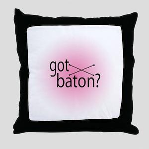 got baton? Throw Pillow