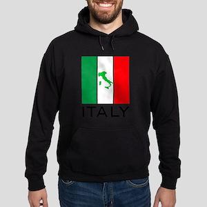 italy flag 00 Hoodie (dark)