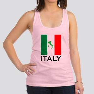 italy flag 00 Racerback Tank Top