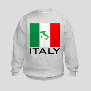 italy flag 00 Kids Sweatshirt