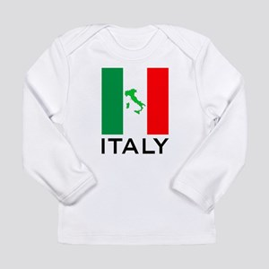 italy flag 00 Long Sleeve Infant T-Shirt
