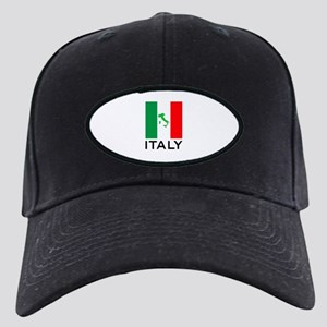 italy flag 00 Black Cap