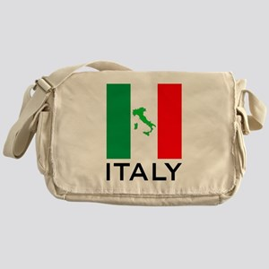 italy flag 00 Messenger Bag