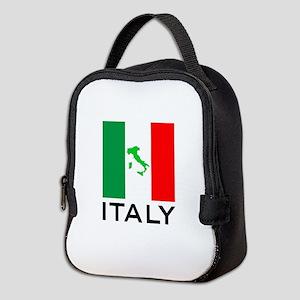 italy flag 00 Neoprene Lunch Bag