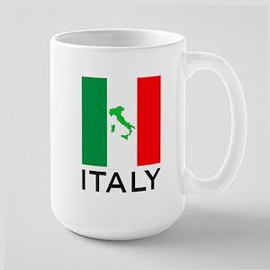 italy flag 00 Large Mug
