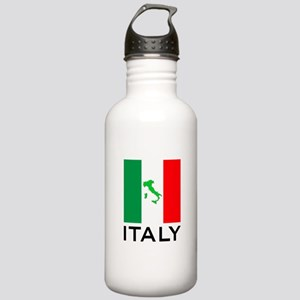 italy flag 00 Stainless Water Bottle 1.0L