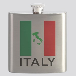 italy flag 00 Flask